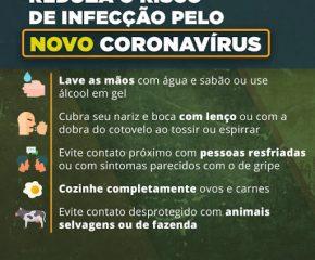 Instruções Coronavírus